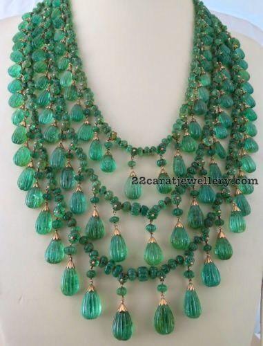 Very Rare Emerald Drops Long Haram