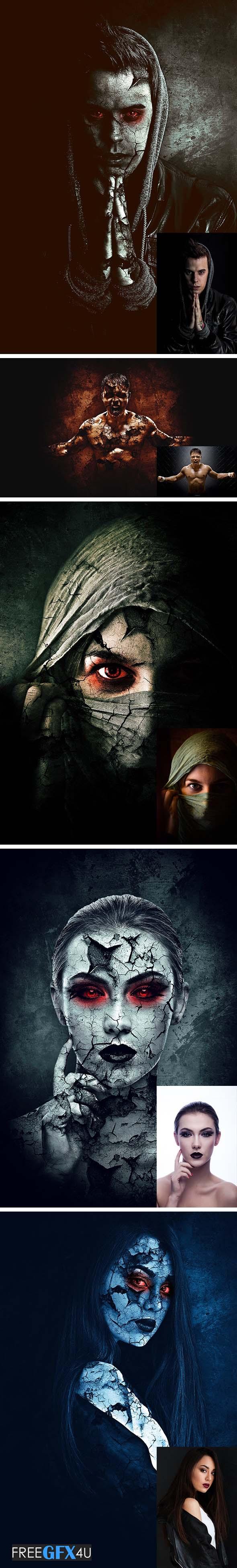Evil Photoshop Action