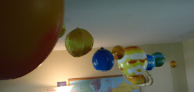 Solar System in our school room