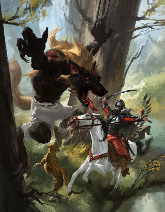 Piotr Arendzikowski artstation deviantart arte ilustrações fantasia games