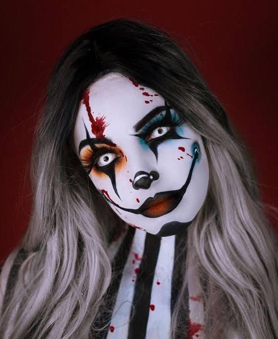 clown makeup idea