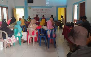 Pemdes Nggembe Tetapkan Program Kerja Melalui Rapat Pembahasan RKPDesa 2021