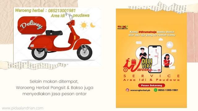 Jasa delivery Waroeng Herbal Pangsit & Bakso