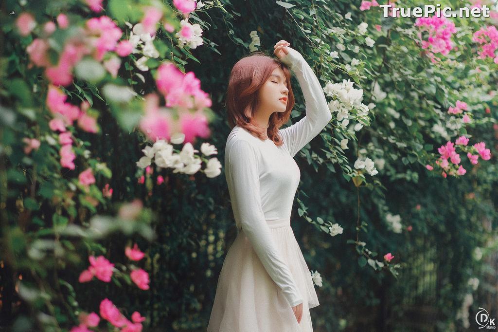 Image Vietnamese Beautiful Model - Bougainvillea Flowering Season - TruePic.net - Picture-6
