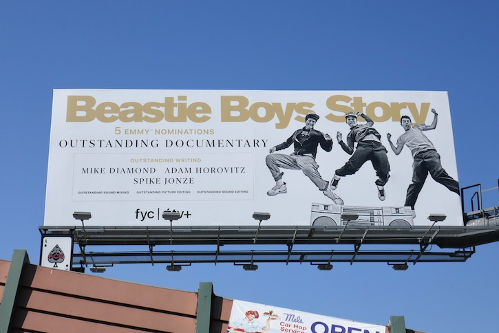 Beastie Boys Story 2020 Emmy nominee billboard