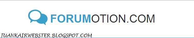 Cara Membuat Forum Gratis di Forumotion.com - Juankair Webster