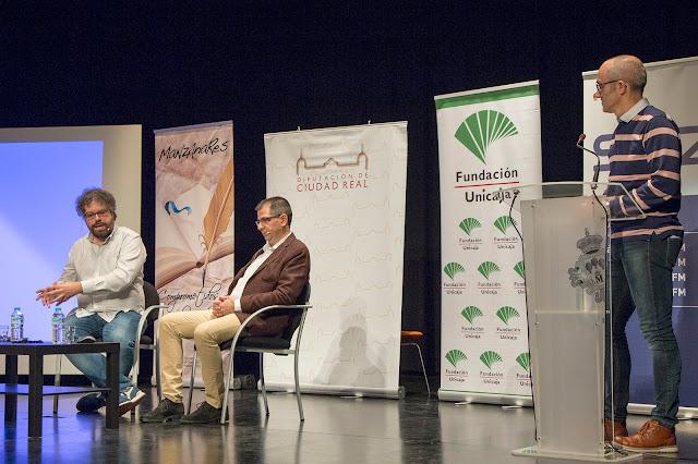 Del Molino y Ruiz Pulpón responden al presidente de la EC. Foto: Carlos Caba