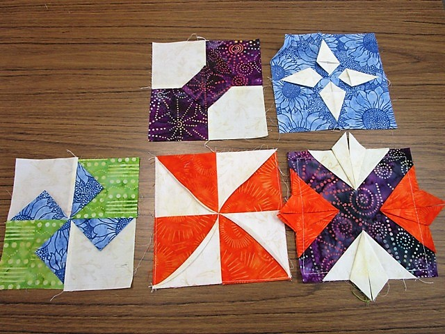 Attic Window Quilt Shop Have You Tried Folded Fabric
