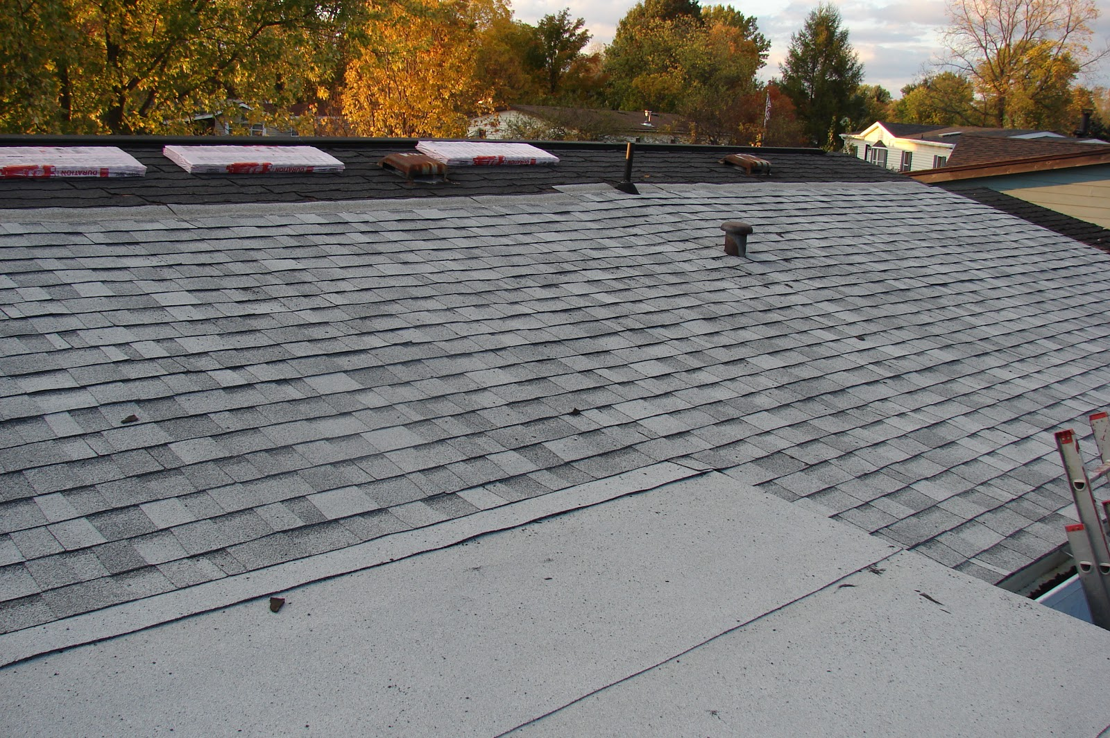 My Commentary And Technical Help New Roof Project
