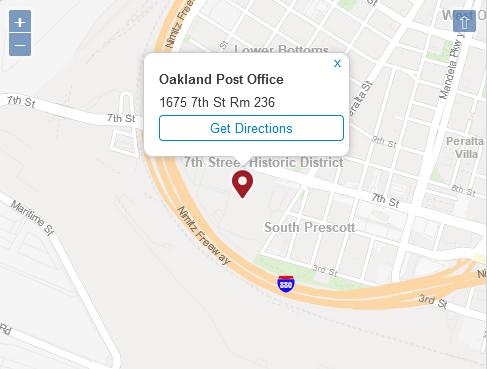 Post Office Oakland