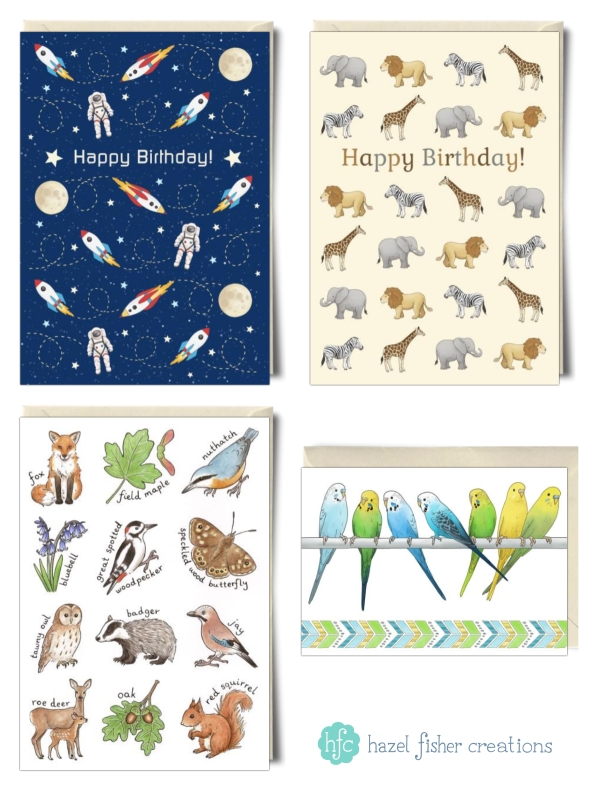My card designs on Thortful Hazel Fisher Creations