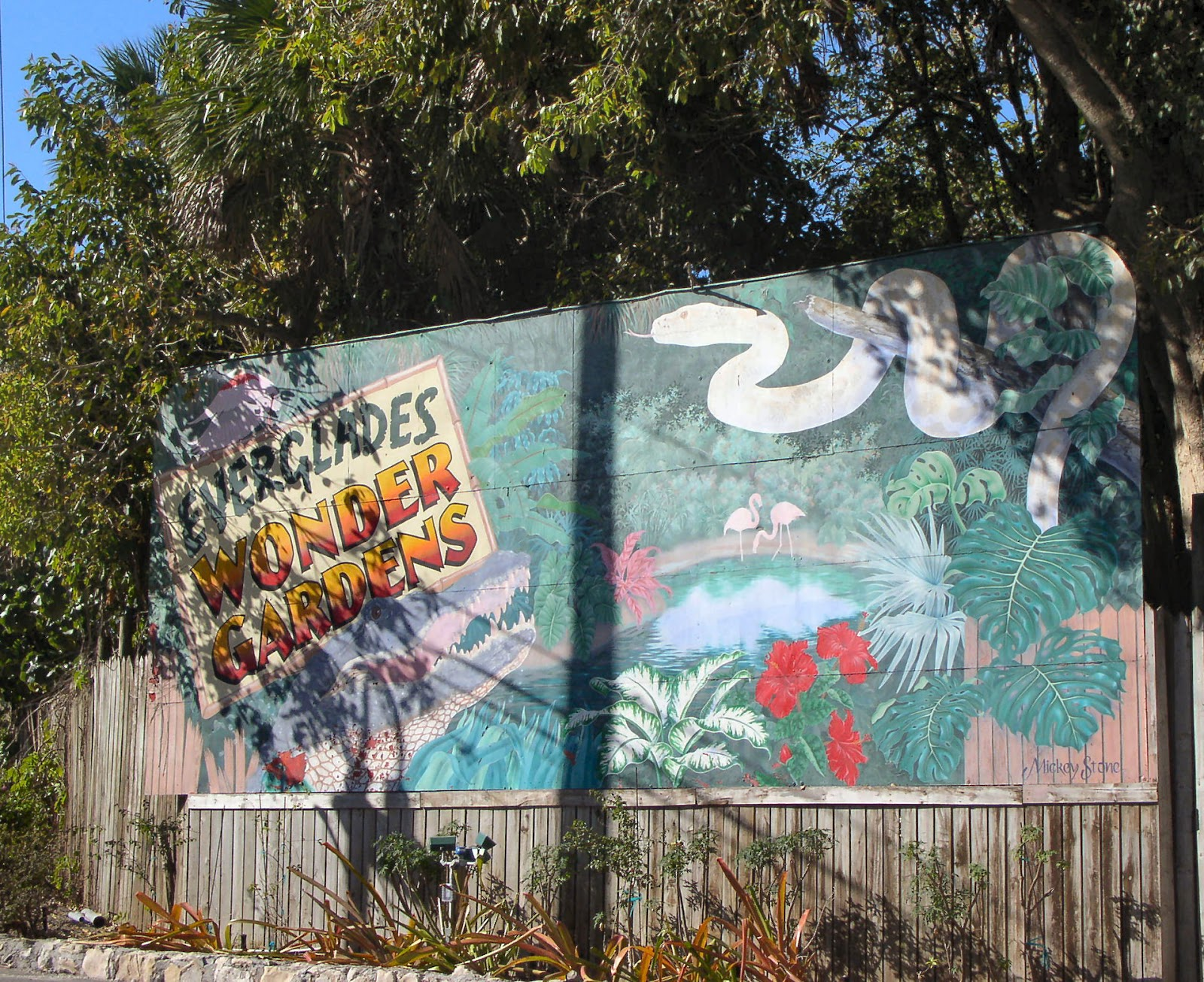 Florida Flowers And Gardens Everglades Wonder Gardens In Bonita Springs