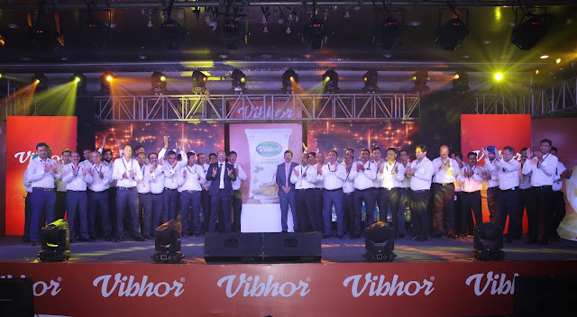 LDC India Vibhor Sales Team Celebrating the Vibhor Brand Refresh