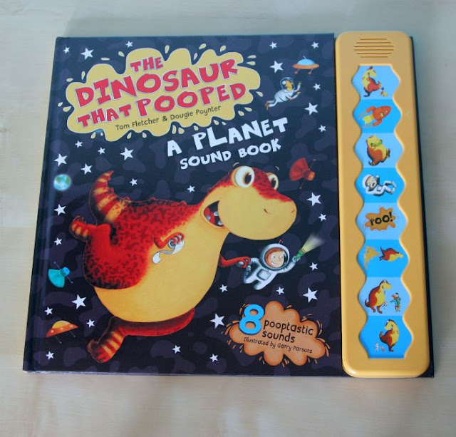 The Dinosaur That Pooped the Bed Review | Morgan's Milieu: The Dinosaur that Pooped A Planet Sound Book front cover