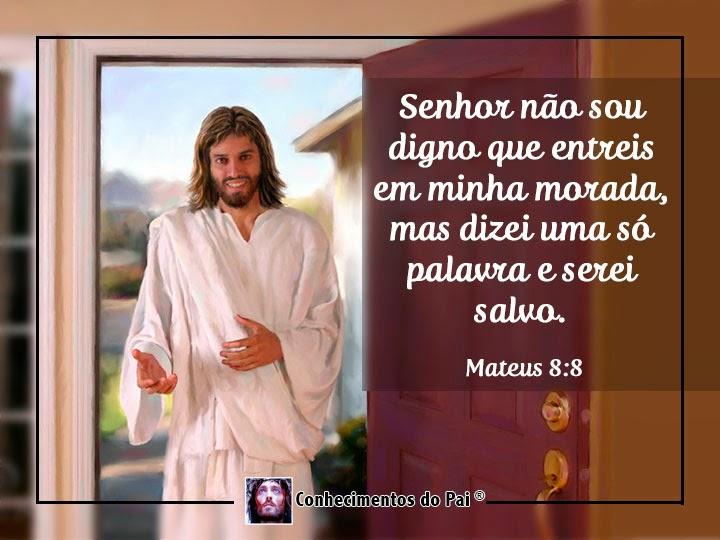 Mateus 8:8