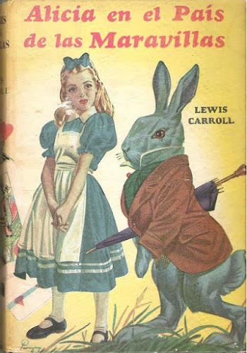 Alicia con el conejo