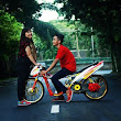 Foto Prewedding Drag yang Romantis