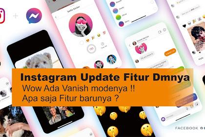 Fitur baru Vanish Mode Instagram ! wajib tahu