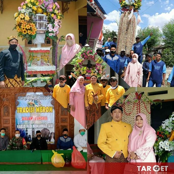 Tradisi Meron Peringati Maulid Nabi Muhammad SAW di Sukolilo Digelar Secara Sederhana