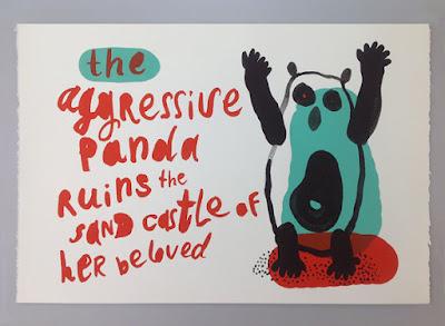 ilustrace panda