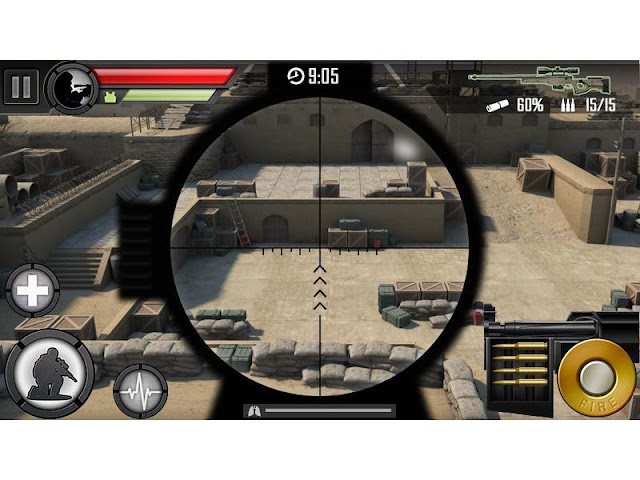 modern sniper low mb game