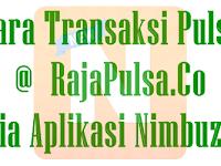 Cara Transaksi Raja Pulsa via Nimbuzz Sebagai Pengganti YM