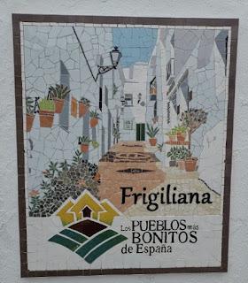 Frigiliana, uno de los pueblos más bonitos de España.