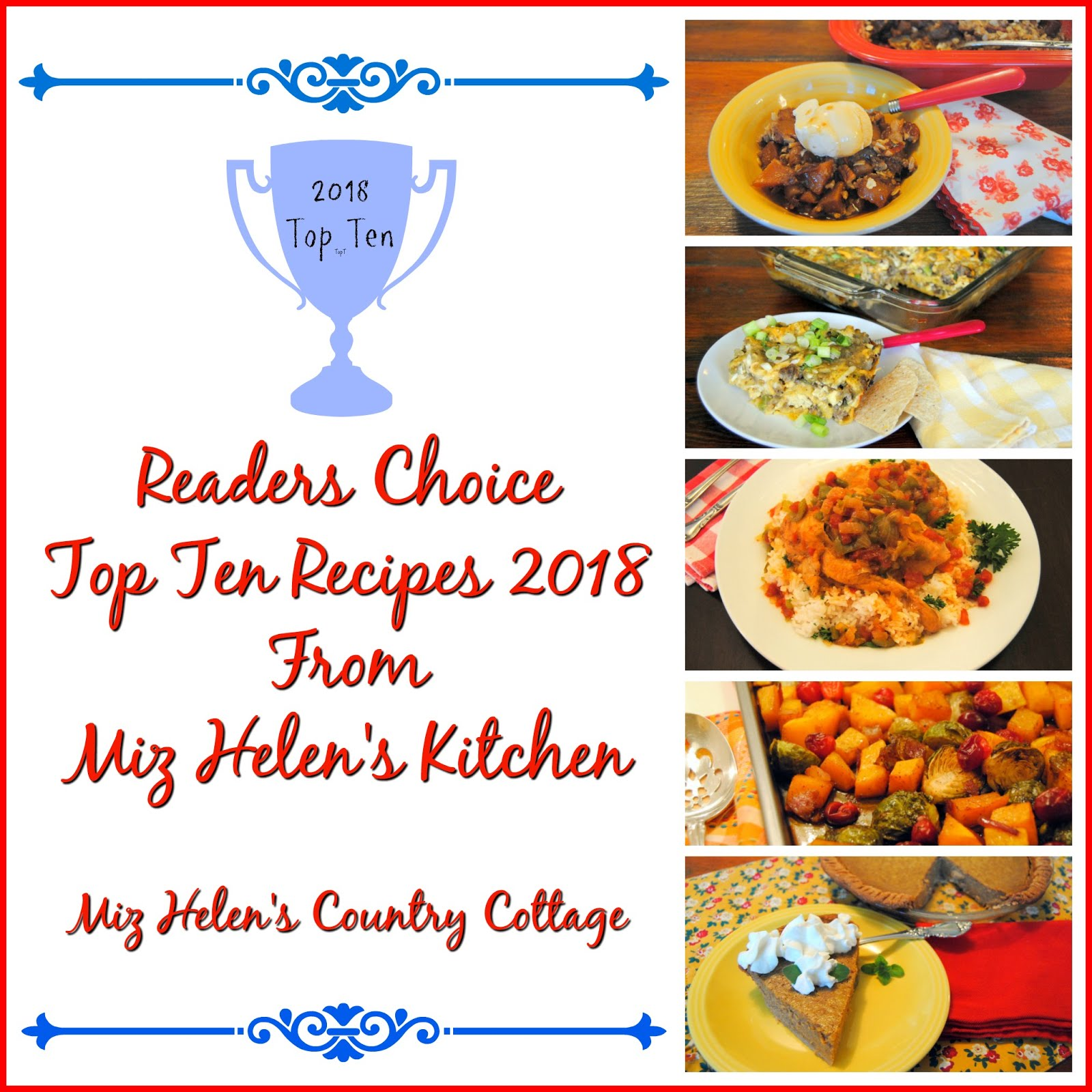 Top Ten Recipes Readers Choice 2018