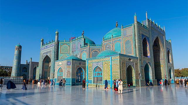 Nhà thờ xanh, biểu tượng cho sự hòa bình Afghanistan