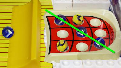 Torneio de Bolinhas de gude : Jogo da Velha - Copa do mundo marble race