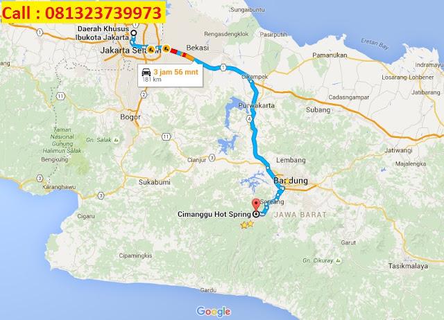 Menuju Cimanggu Ciwidey dari Jakarta