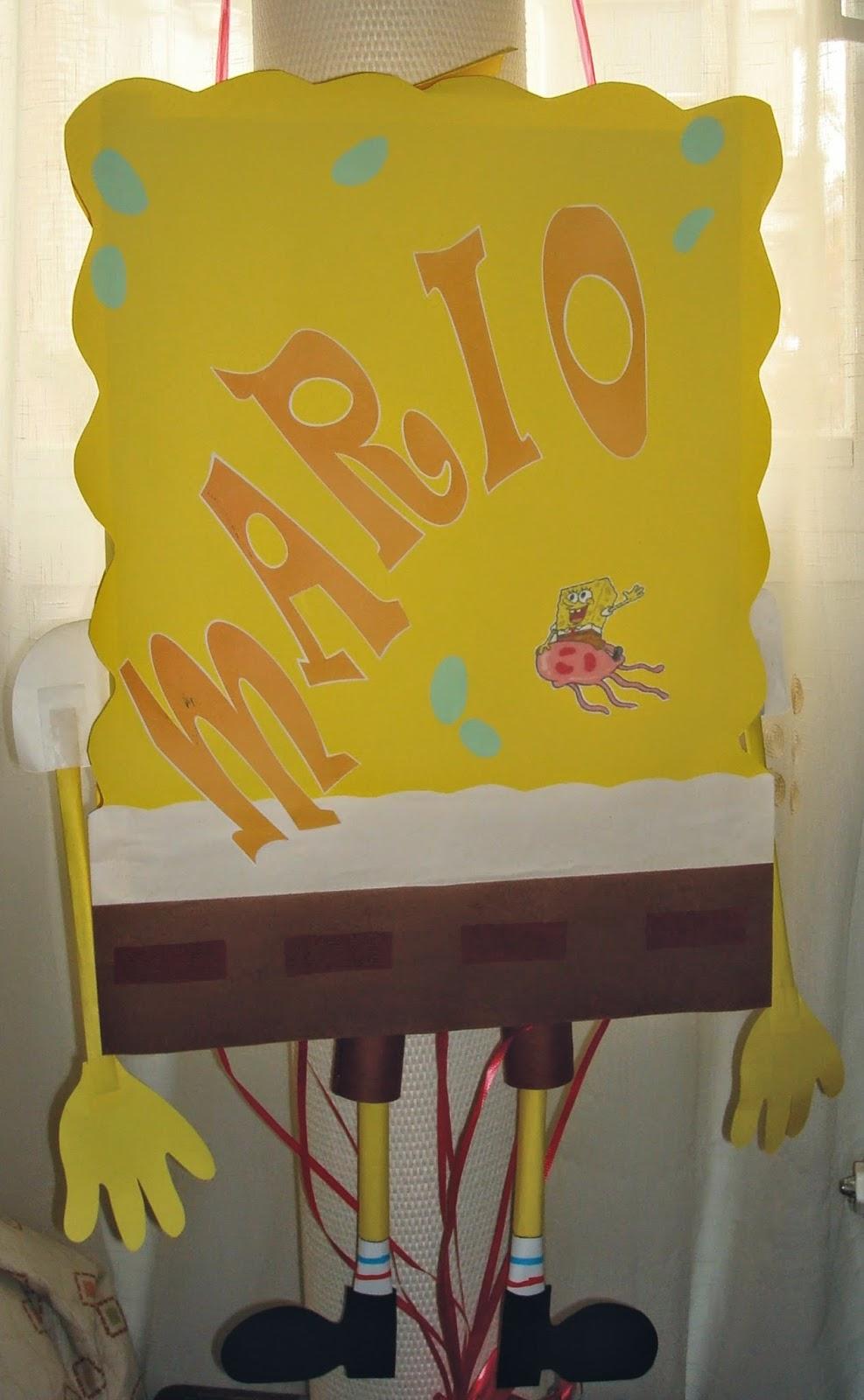 Piñata Bob Esponja