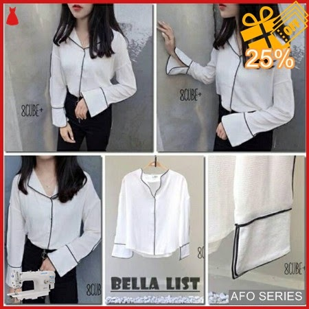 AFO317 Model Fashion Bella List Modis Murah BMGShop