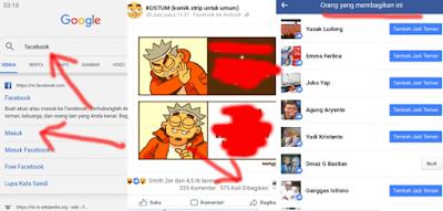 3 langkah cek siapa saja yang membagikan postingan facebook