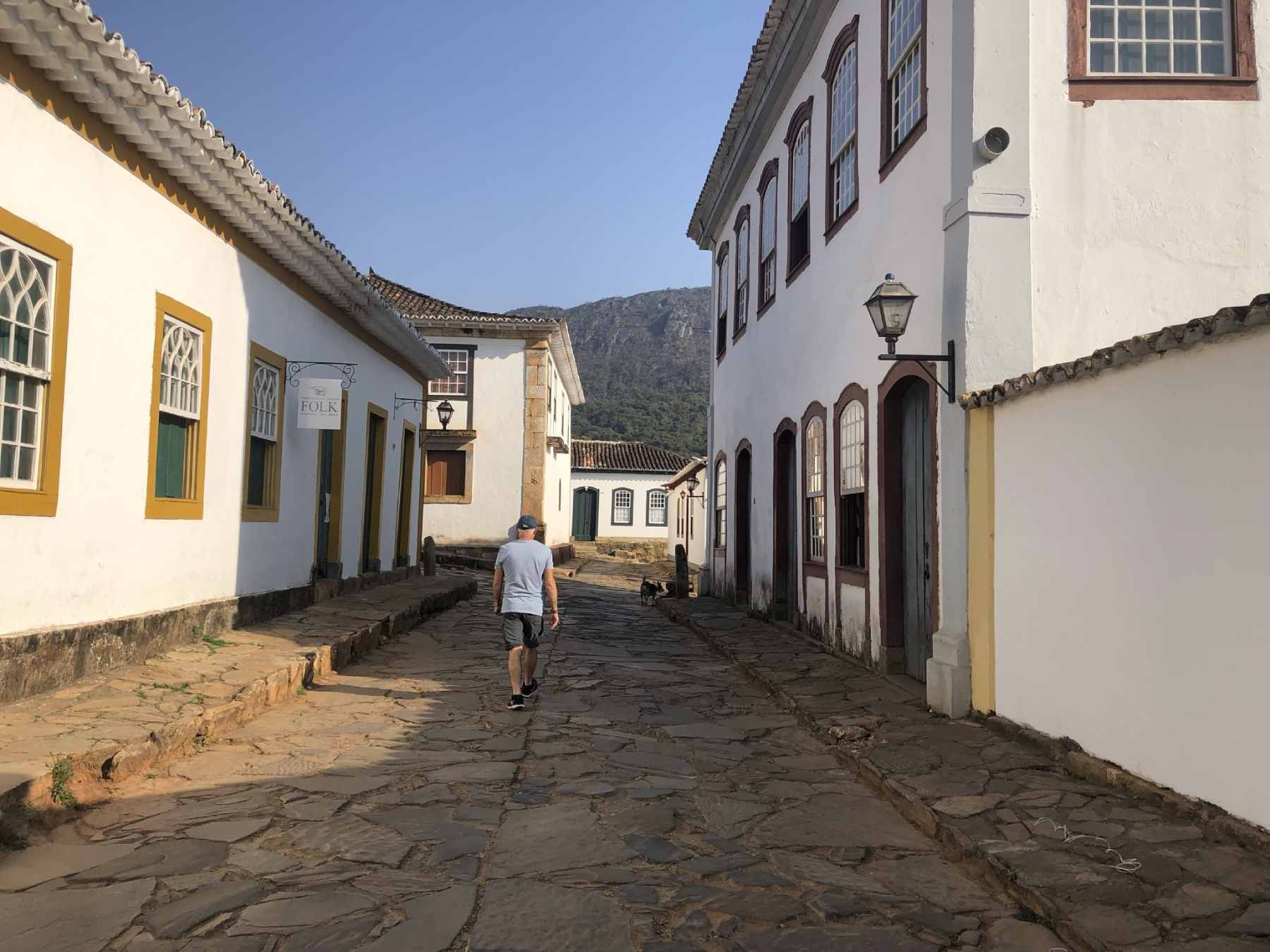 pelas ruas de Tiradentes