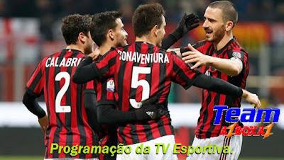 Programação da TV Esportiva ''Segunda'' 21/01/19