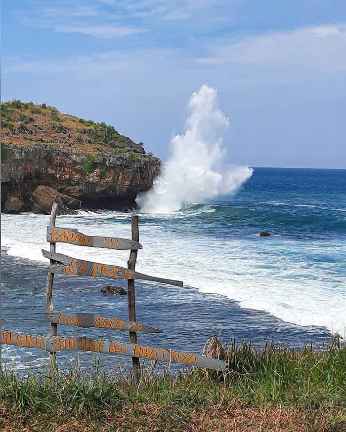 Rute Lokasi Kasap Beach Pacitan