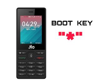 jio f221s Boot Key