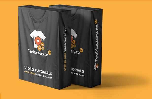 TeeMastery Ver 2.0 - Kursus Online Menjual Produk ke US dan Eropa