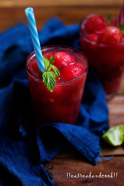 how to make Watermelon Cooler recipe and preparation