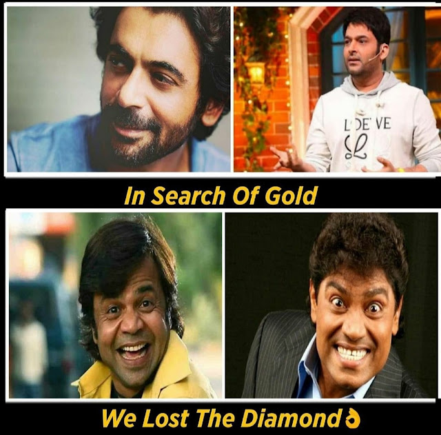 In Search of Gold, We Lost Diamond Meme