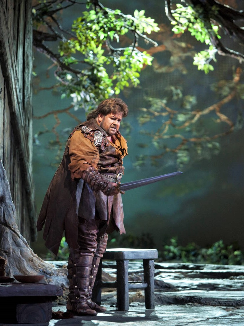 IN MEMORIAM: Tenor JOHAN BOTHA (1965 - 2016) as Siegmund in Richard Wagner's DIE WALKÜRE at The Metropolitan Opera in 2009 [Photo by Ken Howard, © by The Metropolitan Opera]