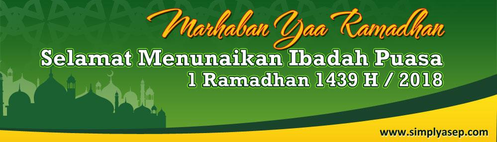 Banner Ramadhan 1438 H