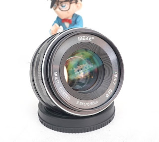Jual Meike 50mm f2 For Fujifilm X-Mount