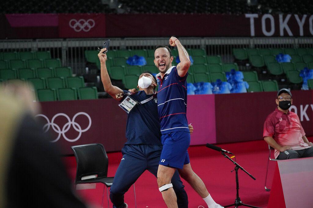 Dibantu Pastor Paroki, Atlet Guetamala Lolos Semi Final Badminton Olimpiade Tokyo