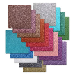 ASSORTMENT GLITTER CARDSTOCK