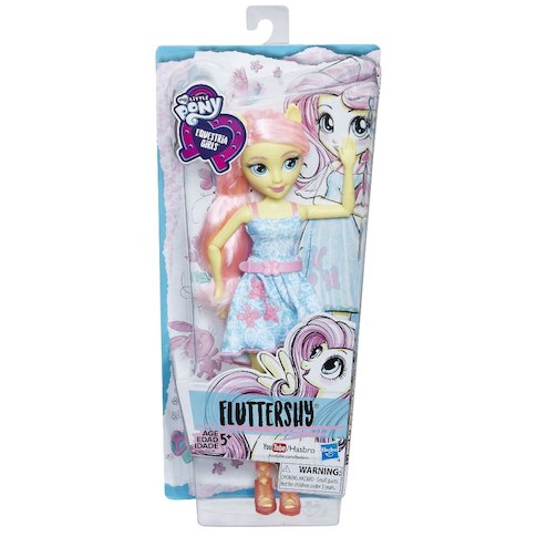 My Little Pony Equestria Girls Classic Style 11-inch Fashion Doll - Fluttershy
