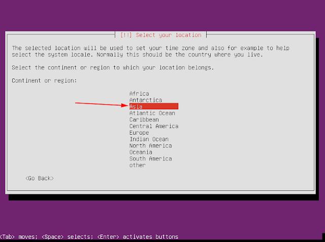 asia ubuntu server