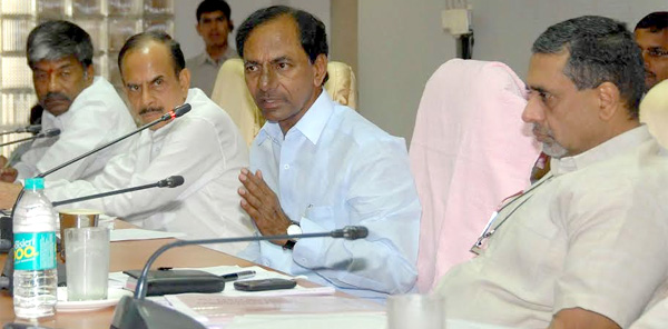 CM KCR review on Mandals to hike their number
