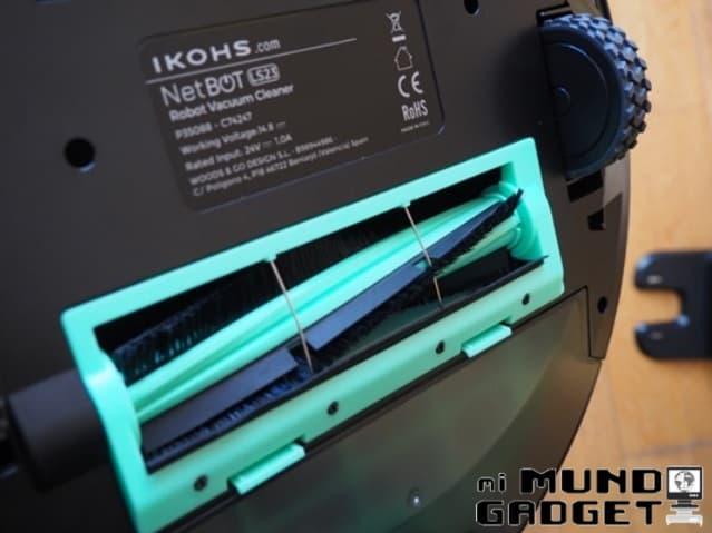 Ikohs Netbot LS23: cepillo giratorio central